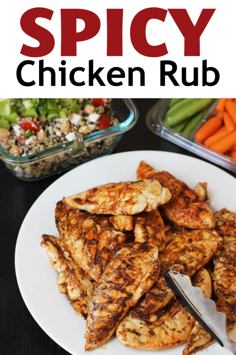 Spicy Chicken Rub for Grilled Chicken - Good Cheap Eats - Recipe For Chicken Breast Rub