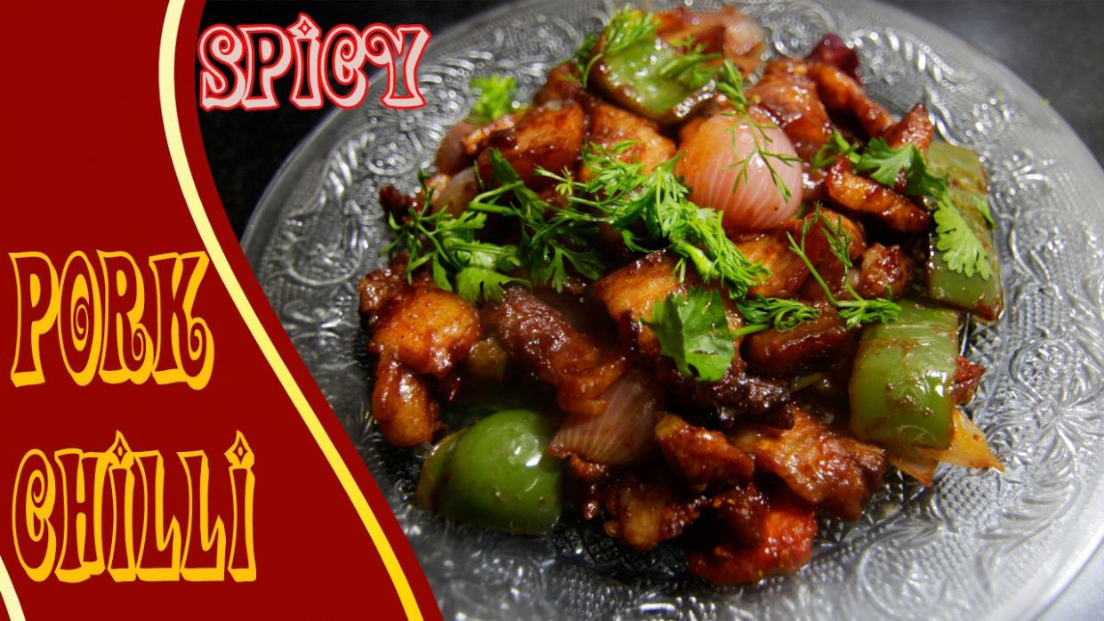 Spicy Chilli Pork Recipe | Easy & Simple Recipe - Pork Recipes Indian