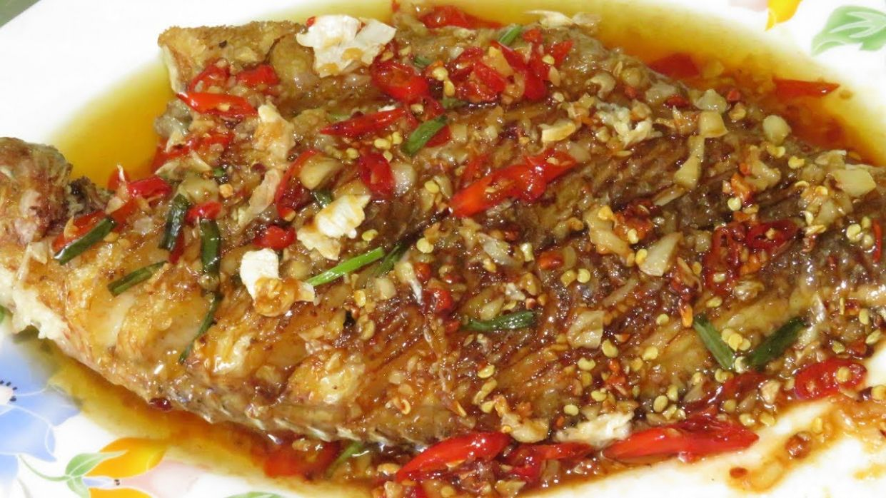 Spicy Fried Fish With Sauce Creative Recipes || Asian Food Cooking - Recipe Fish In Sauce