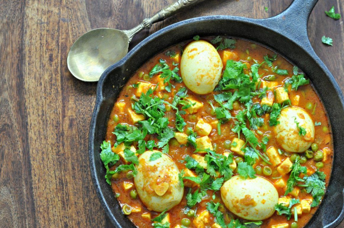 Spicy Haryana Style Egg Curry