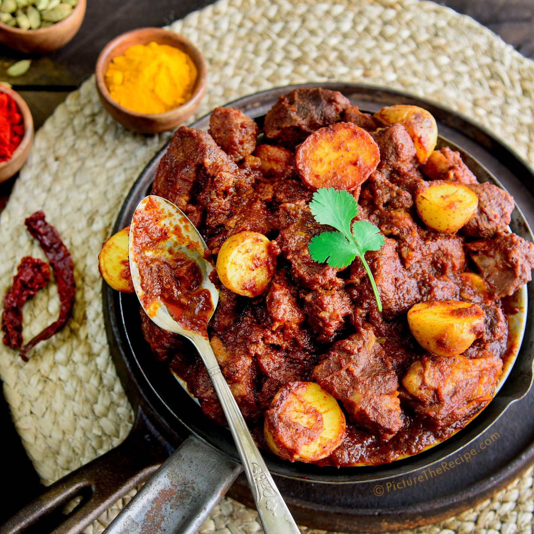 Spicy Pork Vindaloo - Pork Recipes Indian