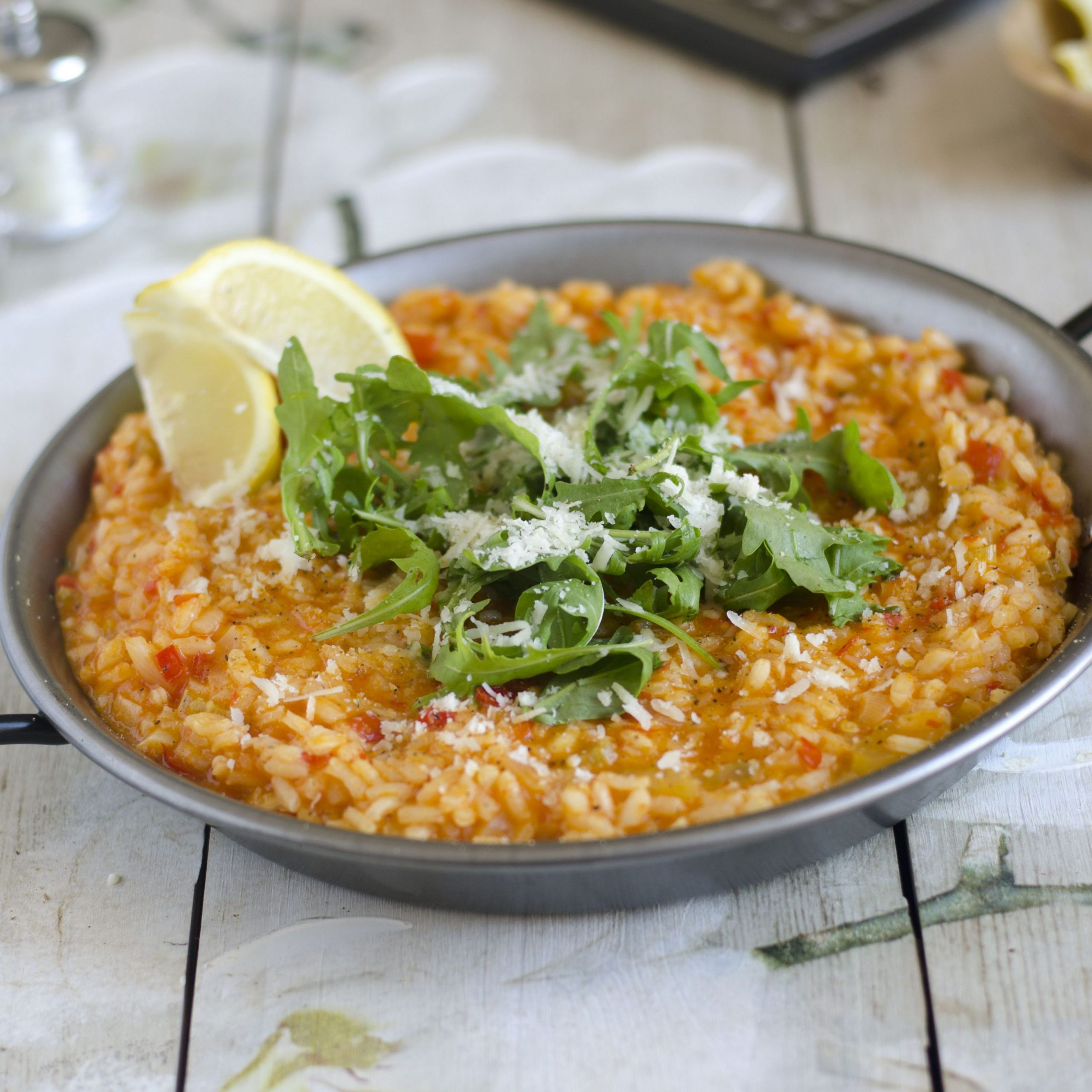 Spicy Risotto with Red Pepper Recipe