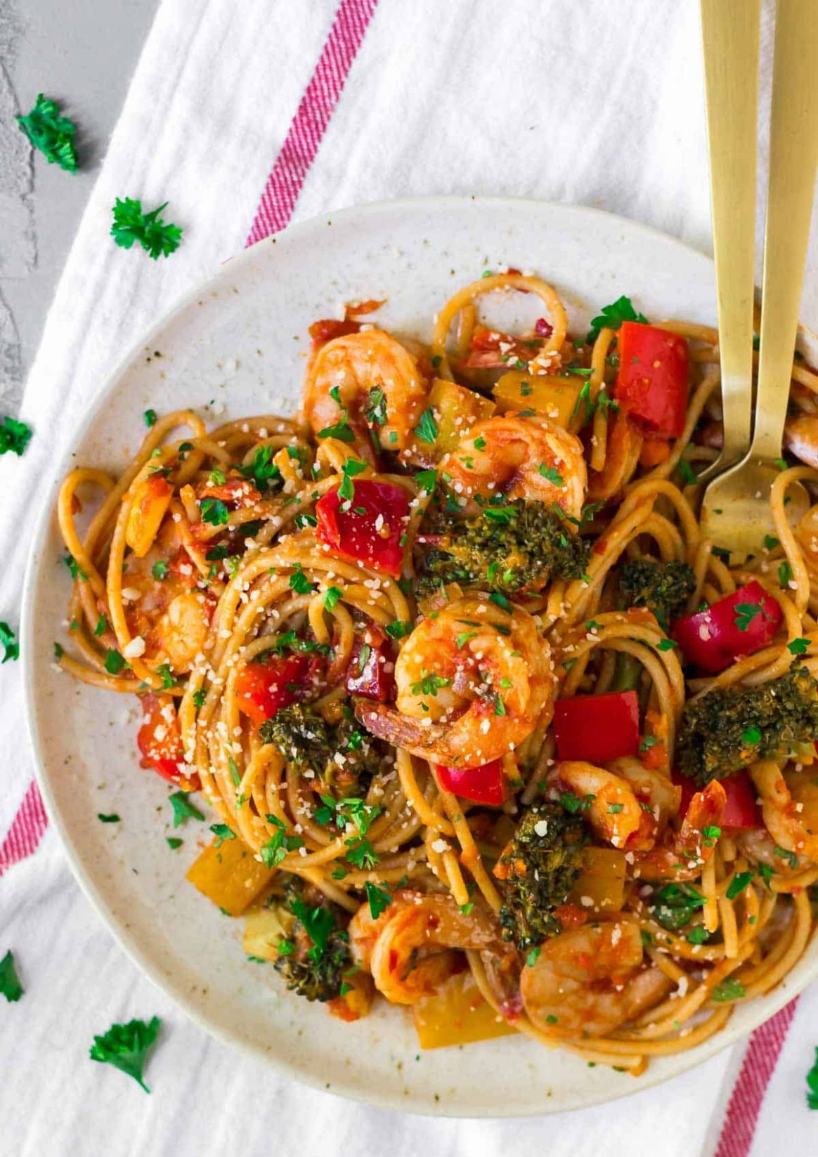 Spicy Shrimp Pasta - Recipes Of Pasta Dishes