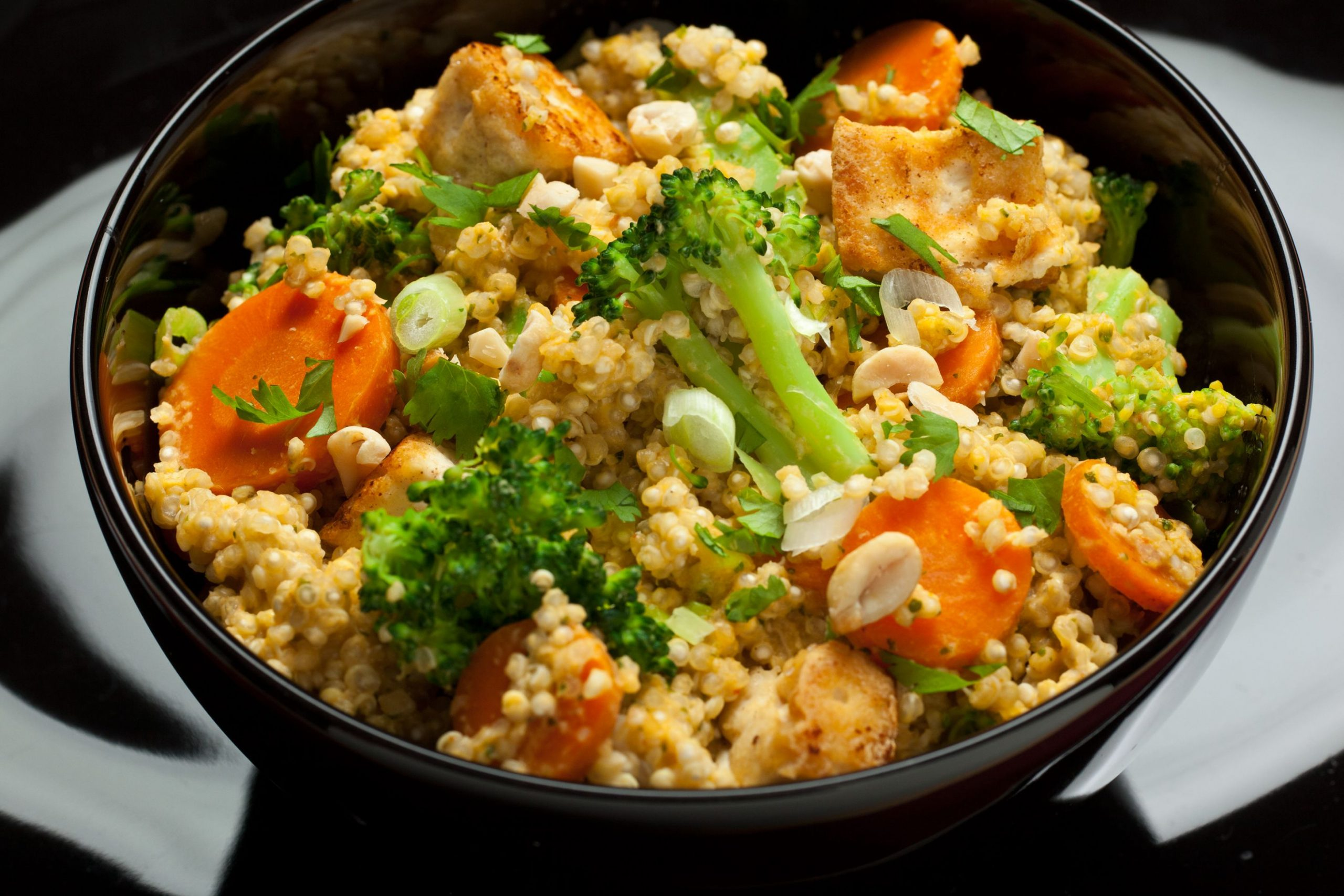 Spicy Thai Coconut Quinoa - Dinner Recipes Quinoa