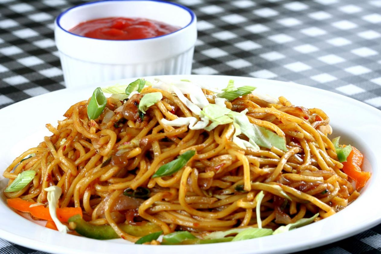 Spicy Vegetable Noodles Recipes