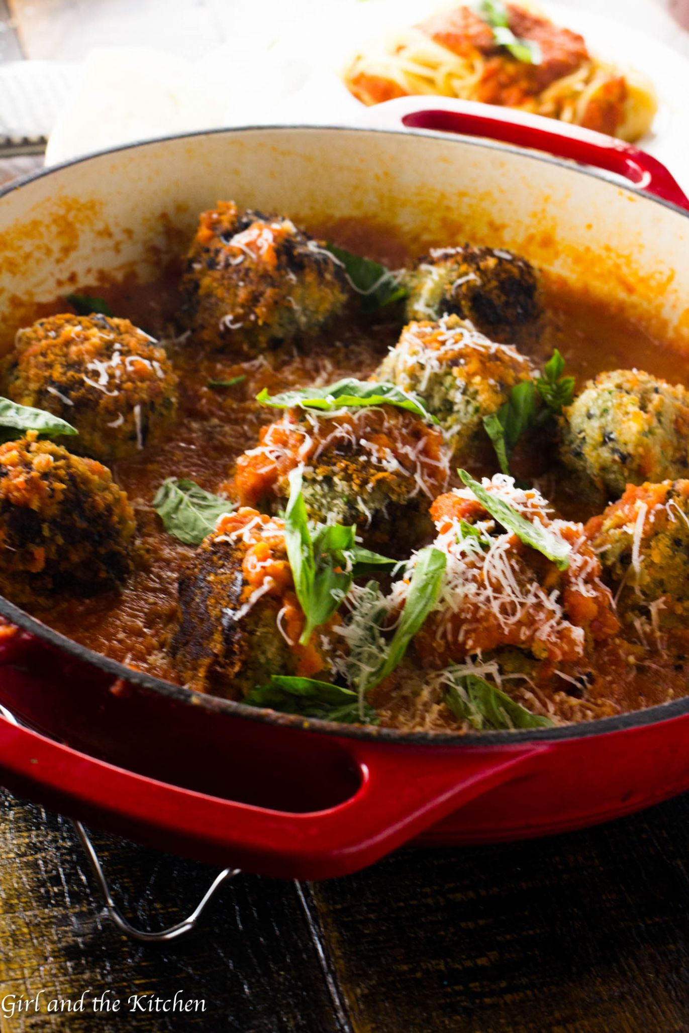Spicy Vegetarian Meatballs