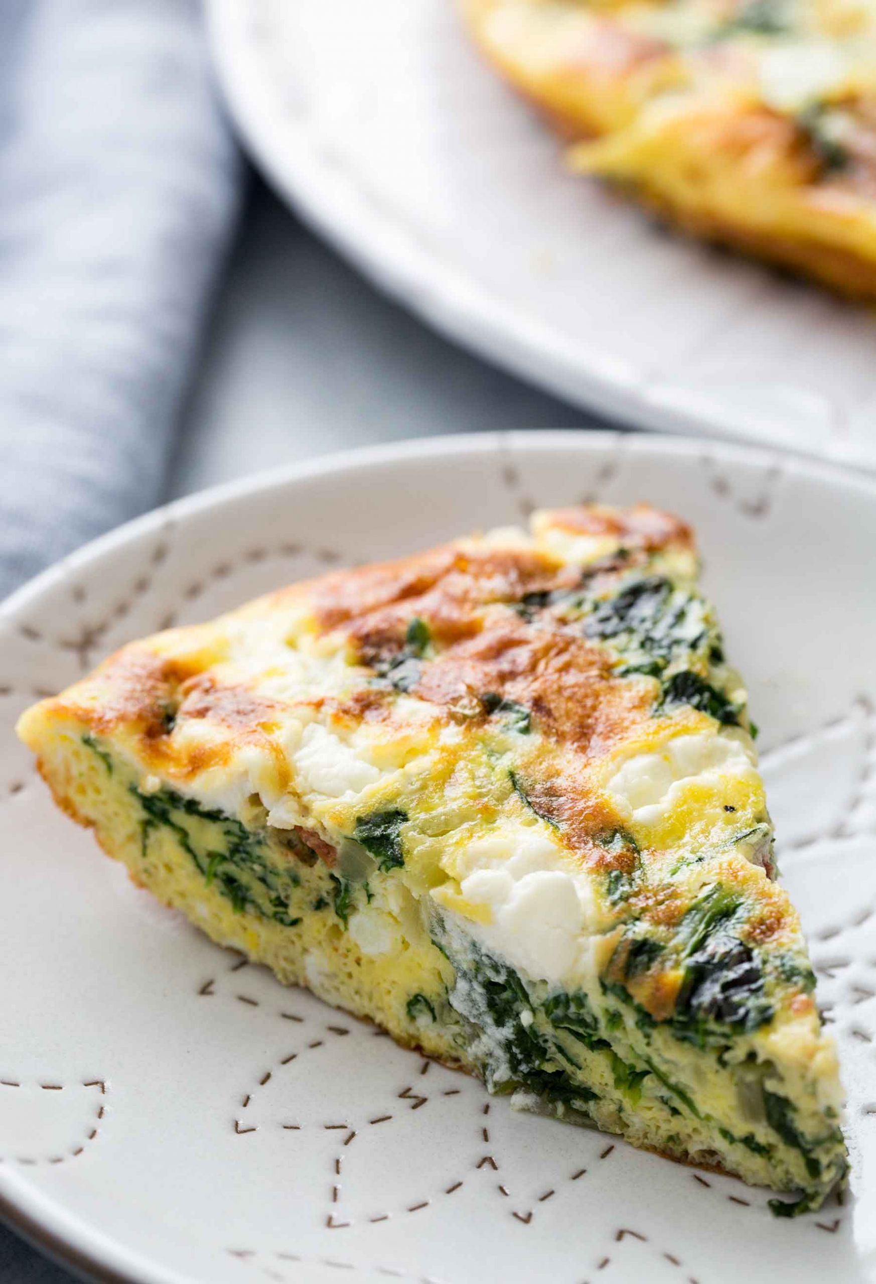 Spinach Frittata - Recipe Egg White Frittata