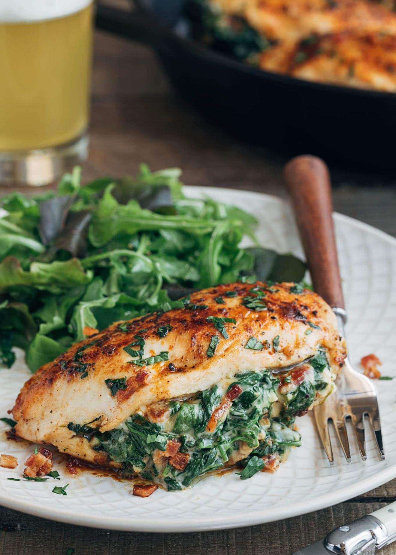 Spinach Stuffed Chicken Breasts - Recipes Chicken Breast Spinach