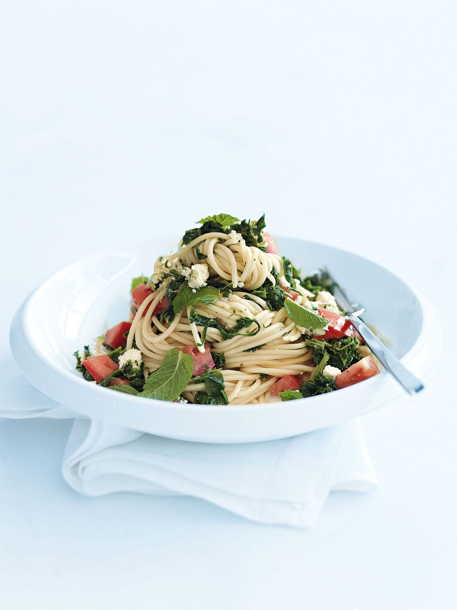 spinach, tomato and feta pasta | Pasta Recipes | Donna hay recipes ..
