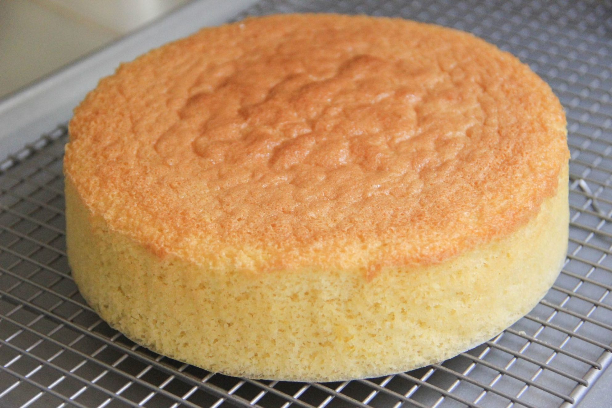 Sponge Cake Recipe - Cake Recipes Plain