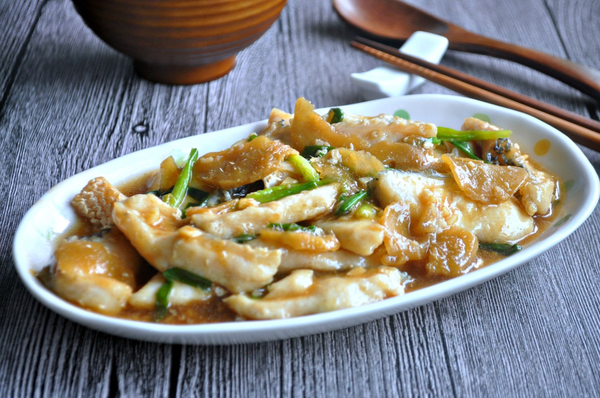 Spring Onion Ginger Fish Fillets 姜葱鱼片