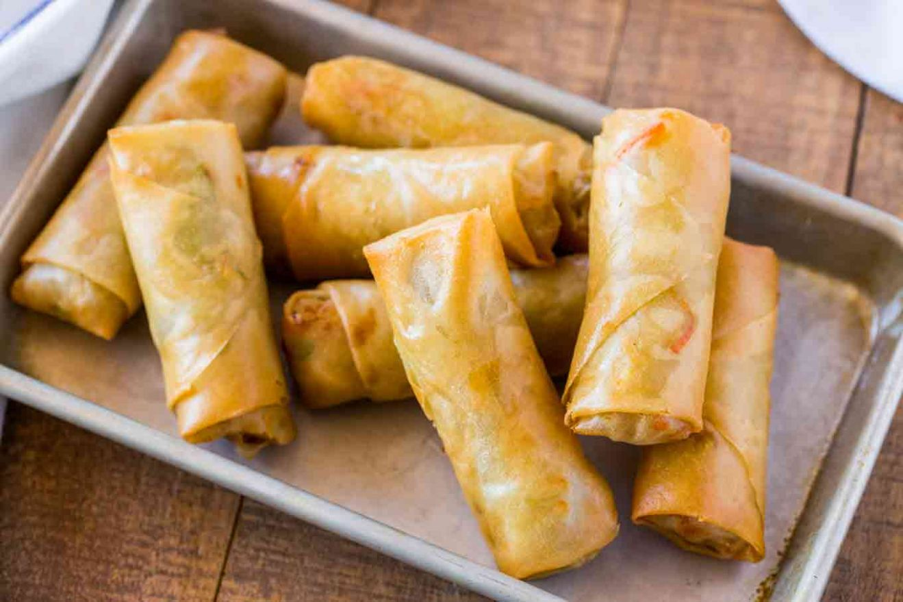 Spring Rolls - Dessert Recipes Using Spring Roll Wrappers
