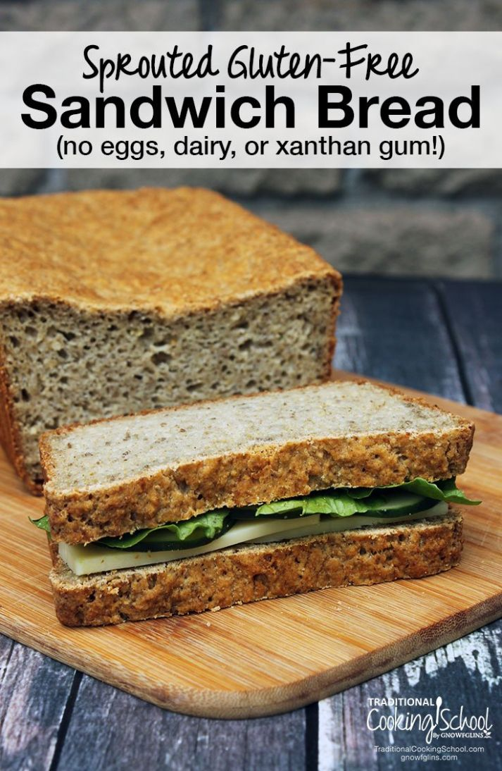 Sprouted Gluten-Free Bread (no eggs, dairy, or xanthan gum!) - Healthy Recipes With Xanthan Gum