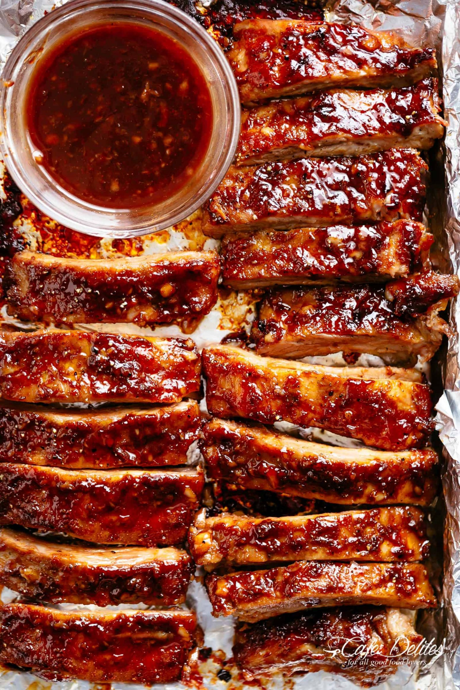 Sticky Oven Barbecue Ribs - Cafe Delites - Recipes Pork Ribs In Oven