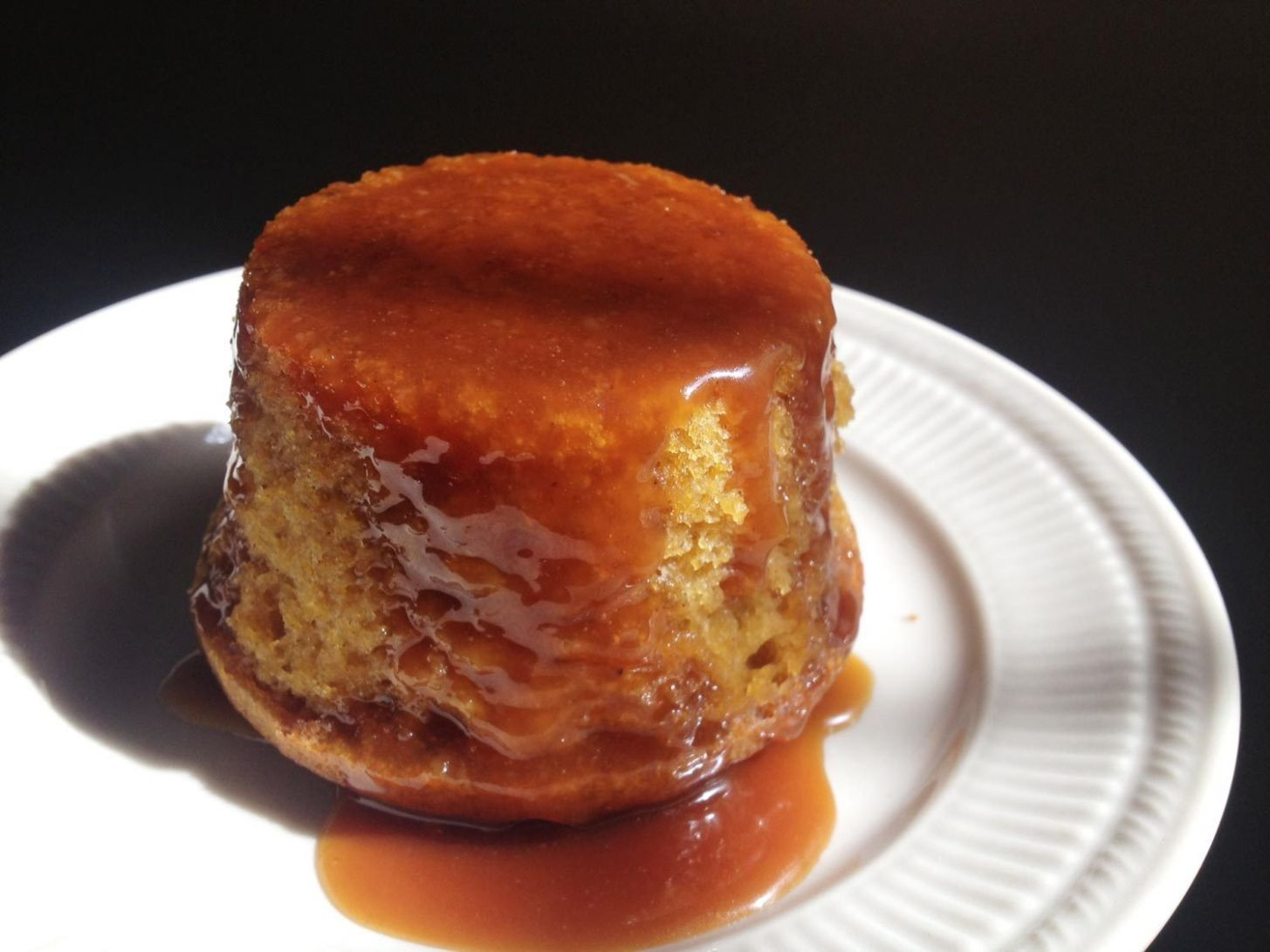 Sticky Pumpkin Cake With Hard Cider Caramel Recipe