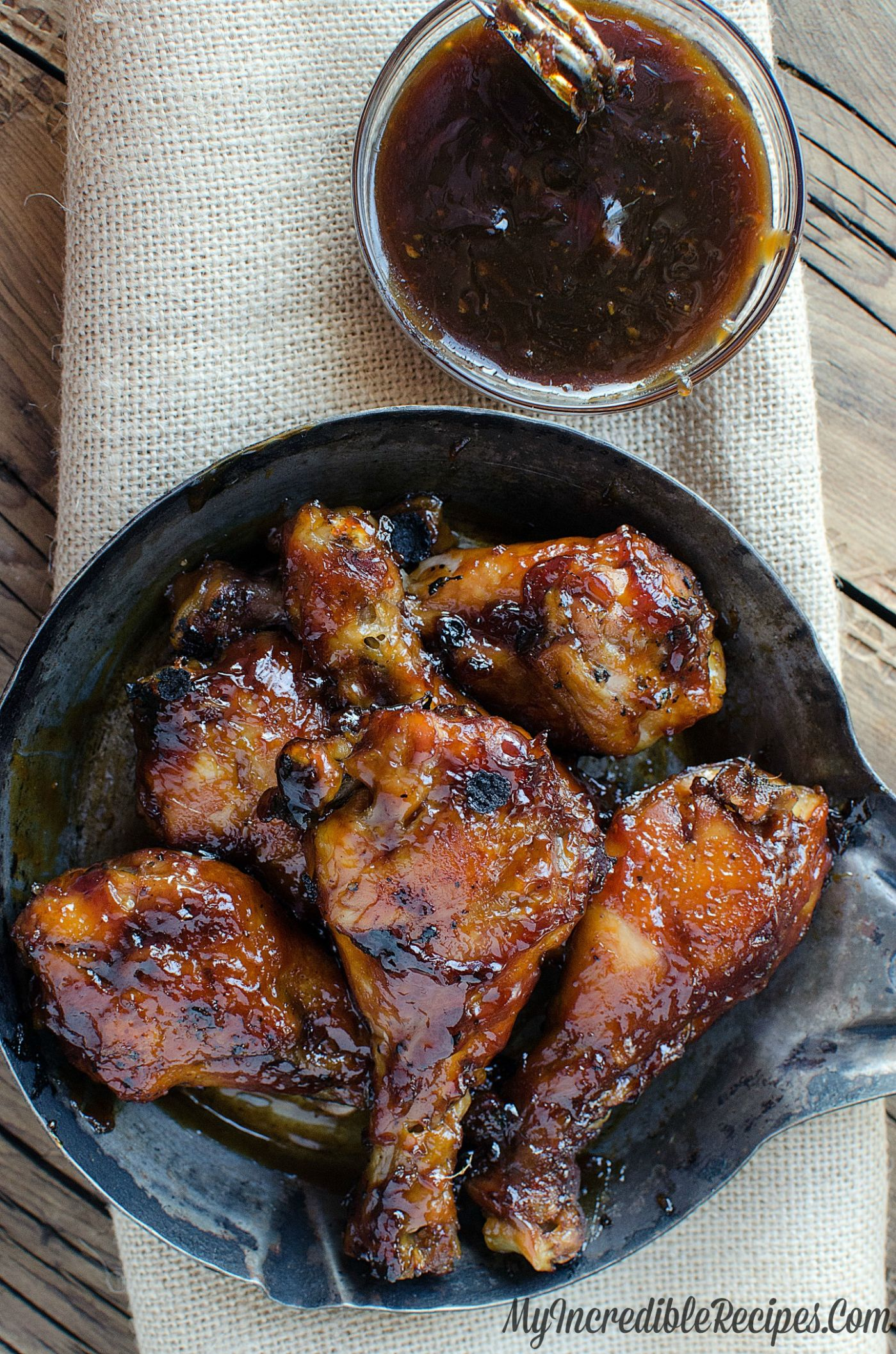 Sticky Sweet Bacon Glazed Chicken in the Crock Pot! - Recipes Chicken Drumsticks Slow Cooker