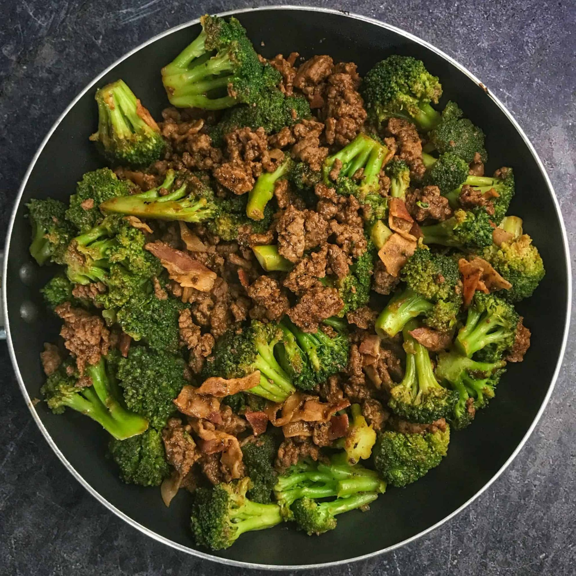 Sticky Sweet Ground Beef and Broccoli - Healthy Recipes Ground Beef