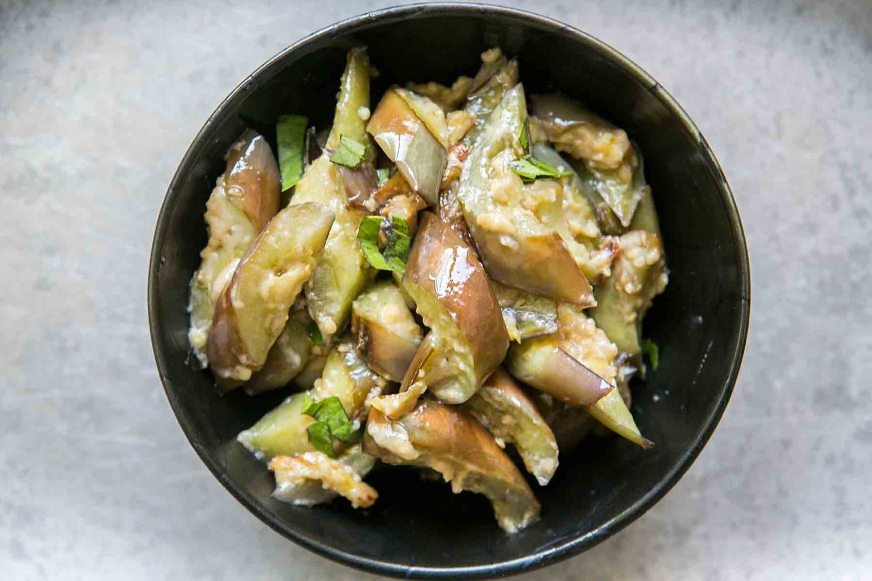 Stir Fried Japanese Eggplant with Ginger and Miso - Easy Recipes Japanese Eggplant