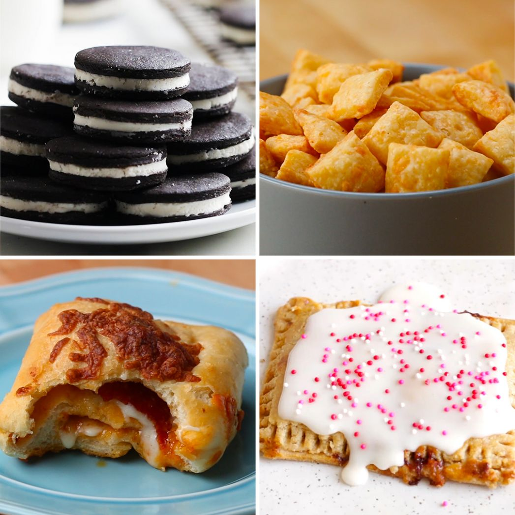 Store-Bought Snacks You Can Make At Home | Recipes