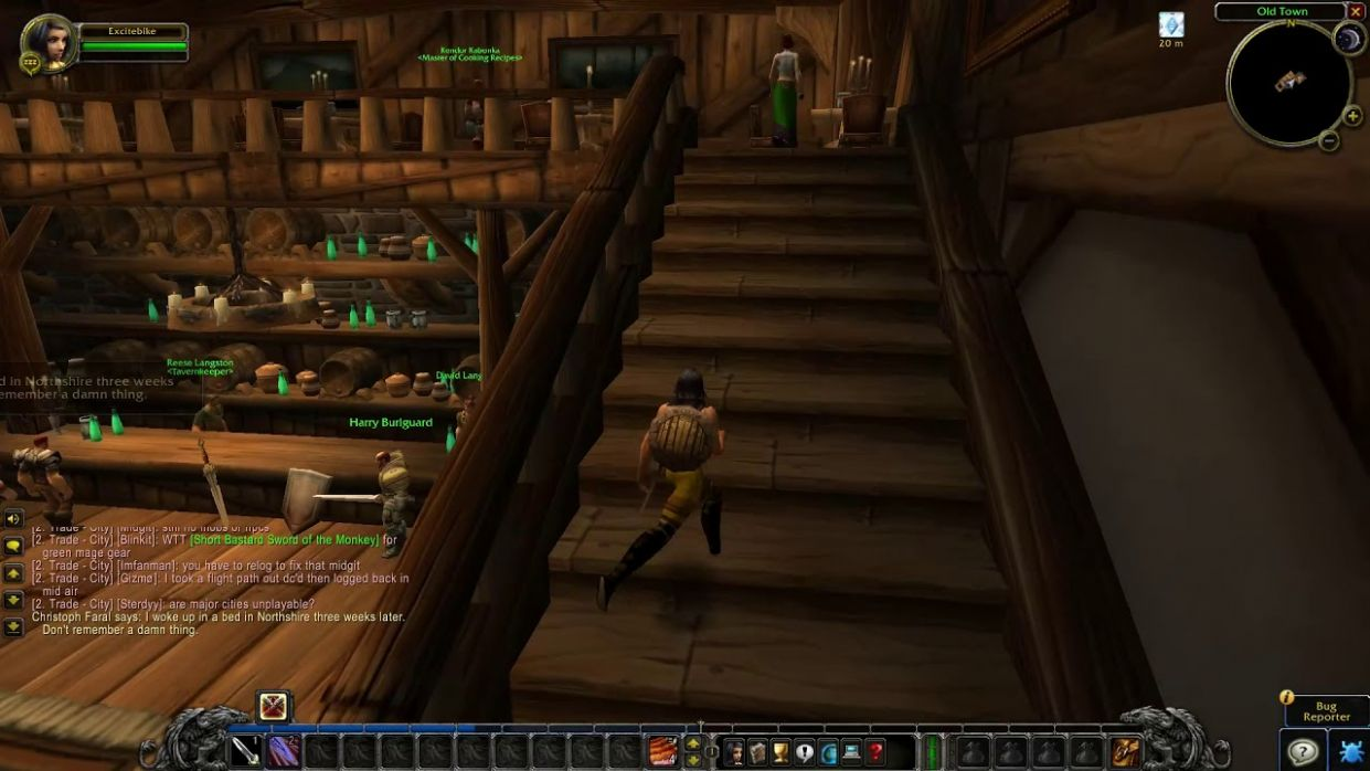 Stormwind Cooking Trainer location - WoW Classic