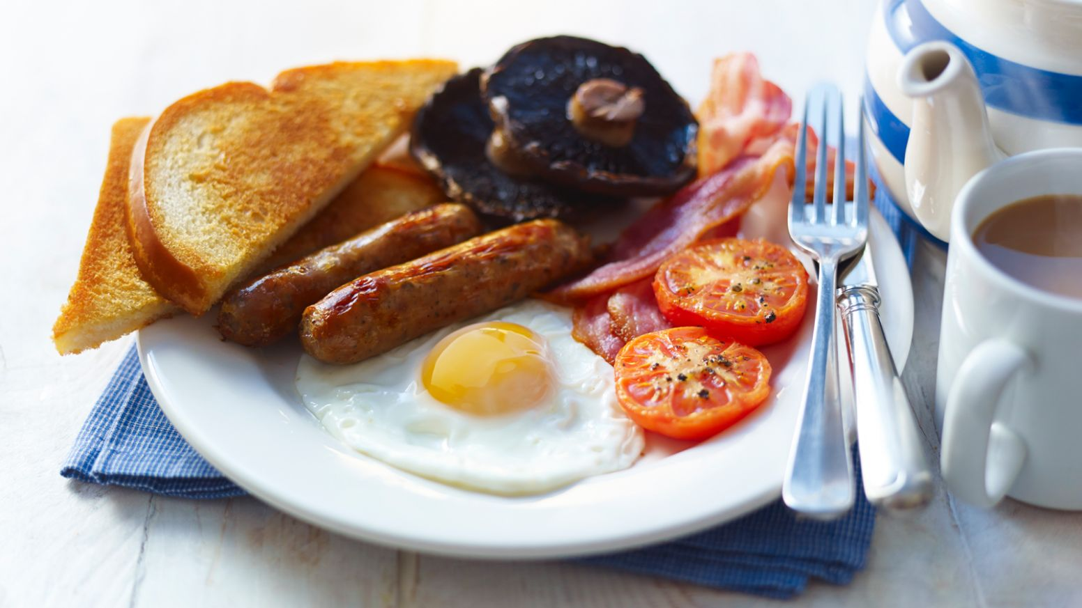 Stress-free full English breakfast