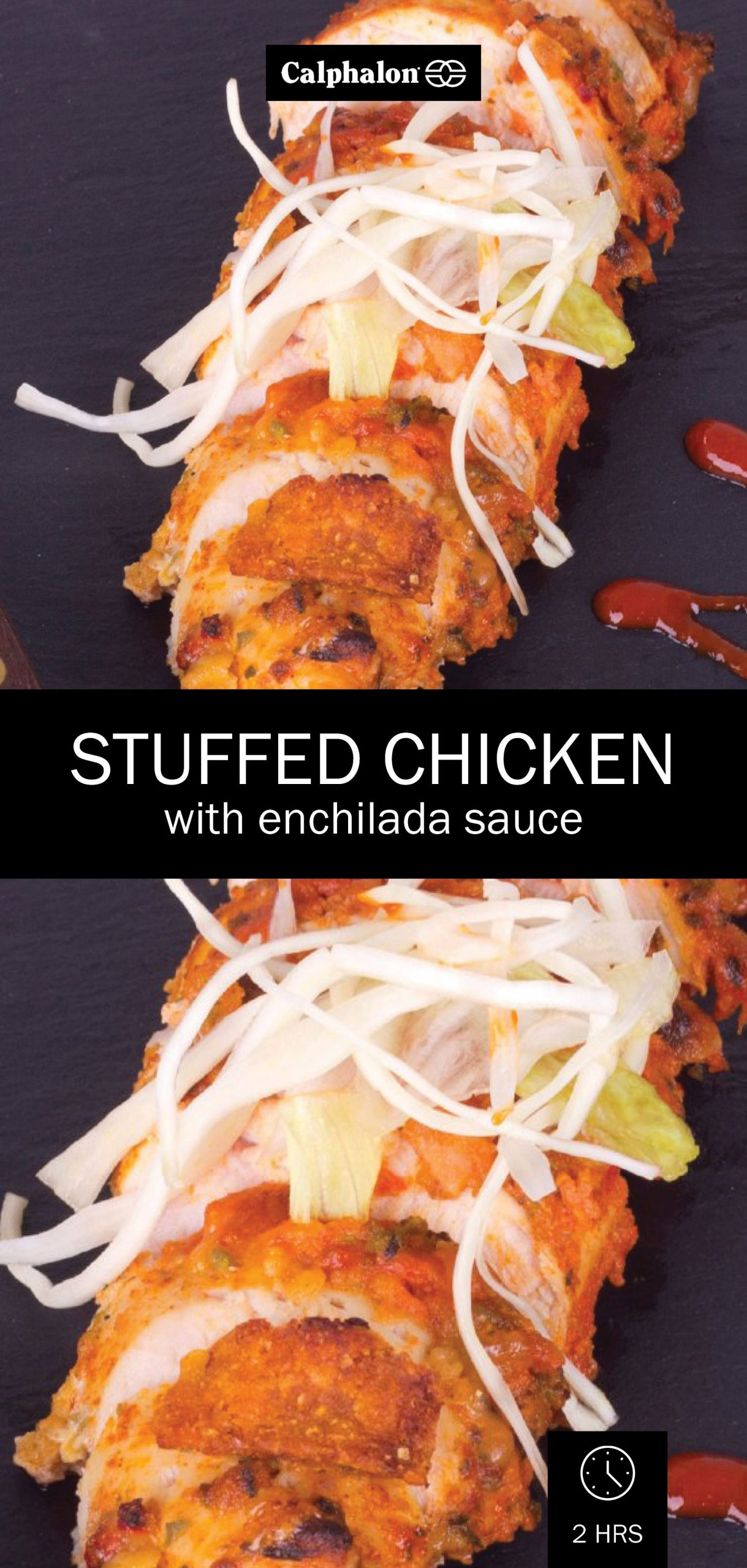 Stuffed Chicken Breasts with Enchilada Sauce | Enchilada sauce ...