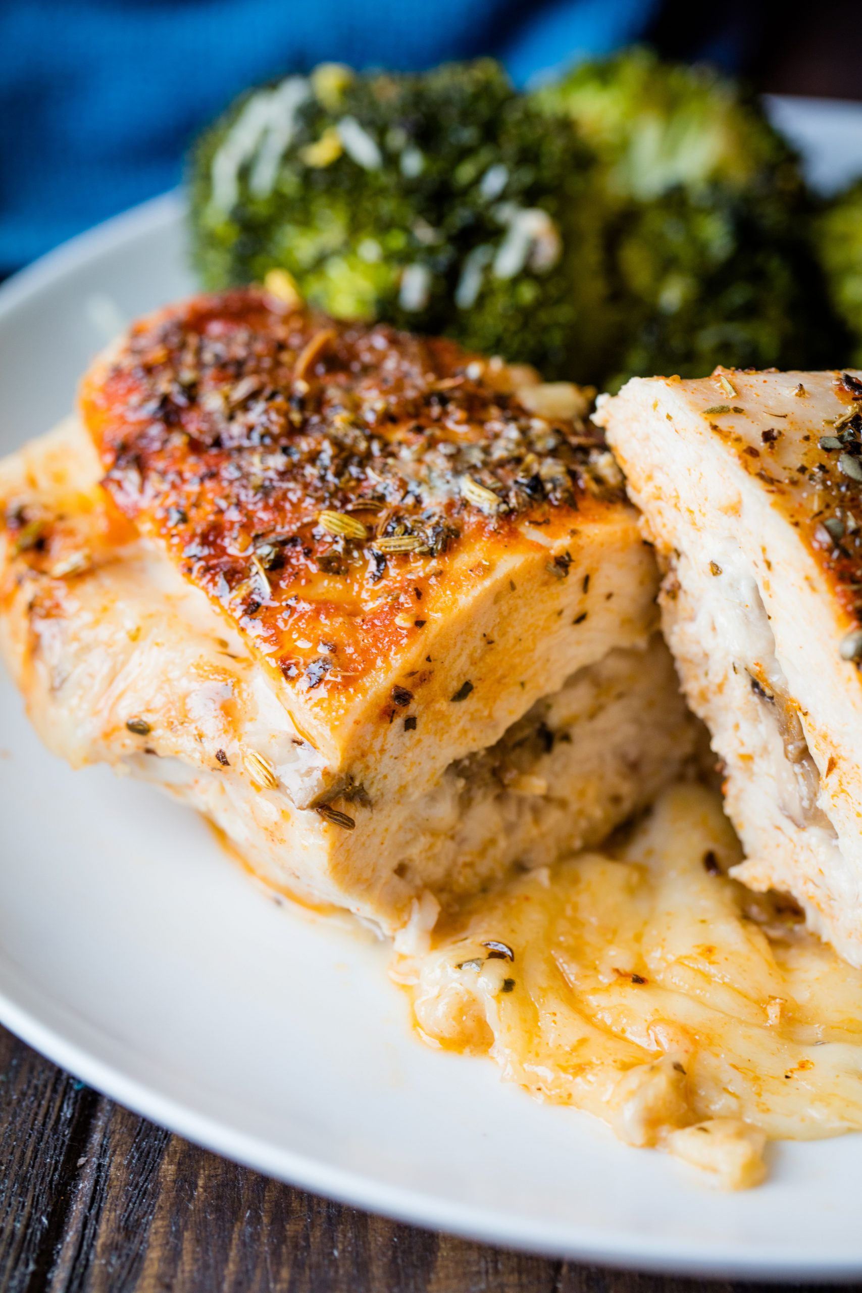 Stuffed Herbed Chicken Breasts