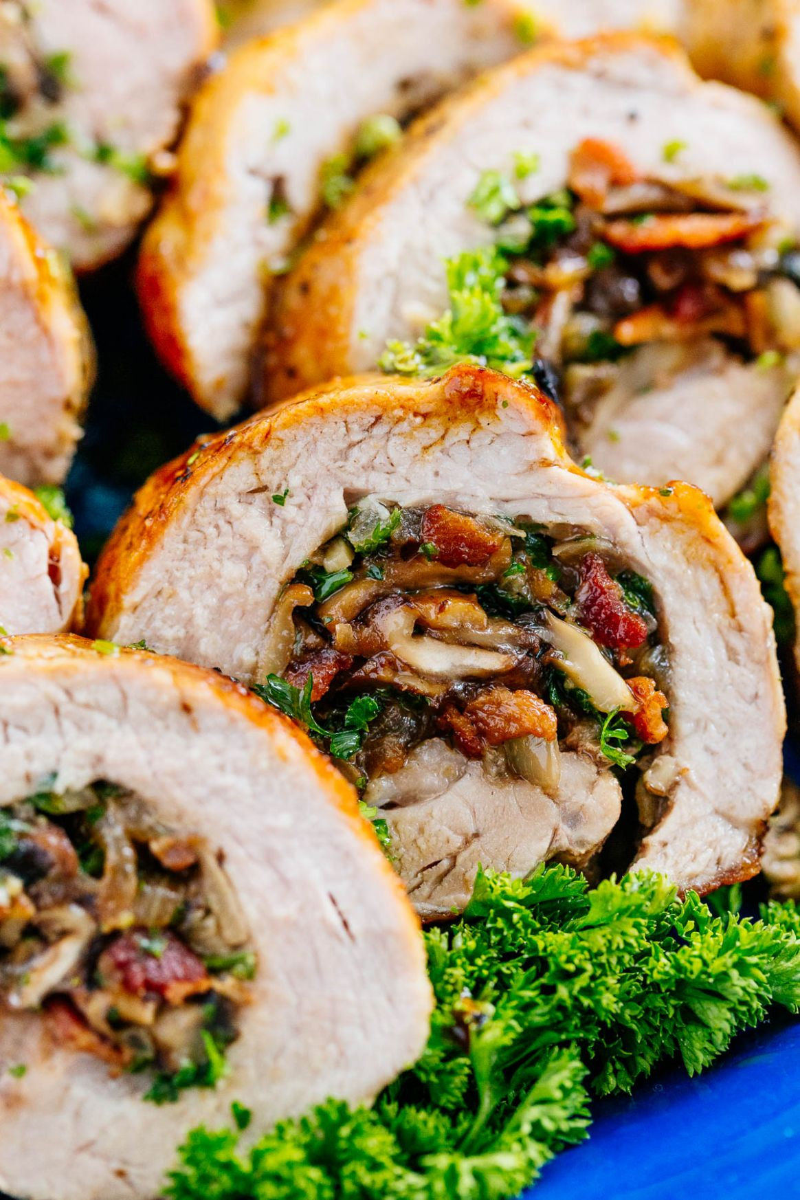 Stuffed Pork Tenderloin - Pork Tenderloin Recipes