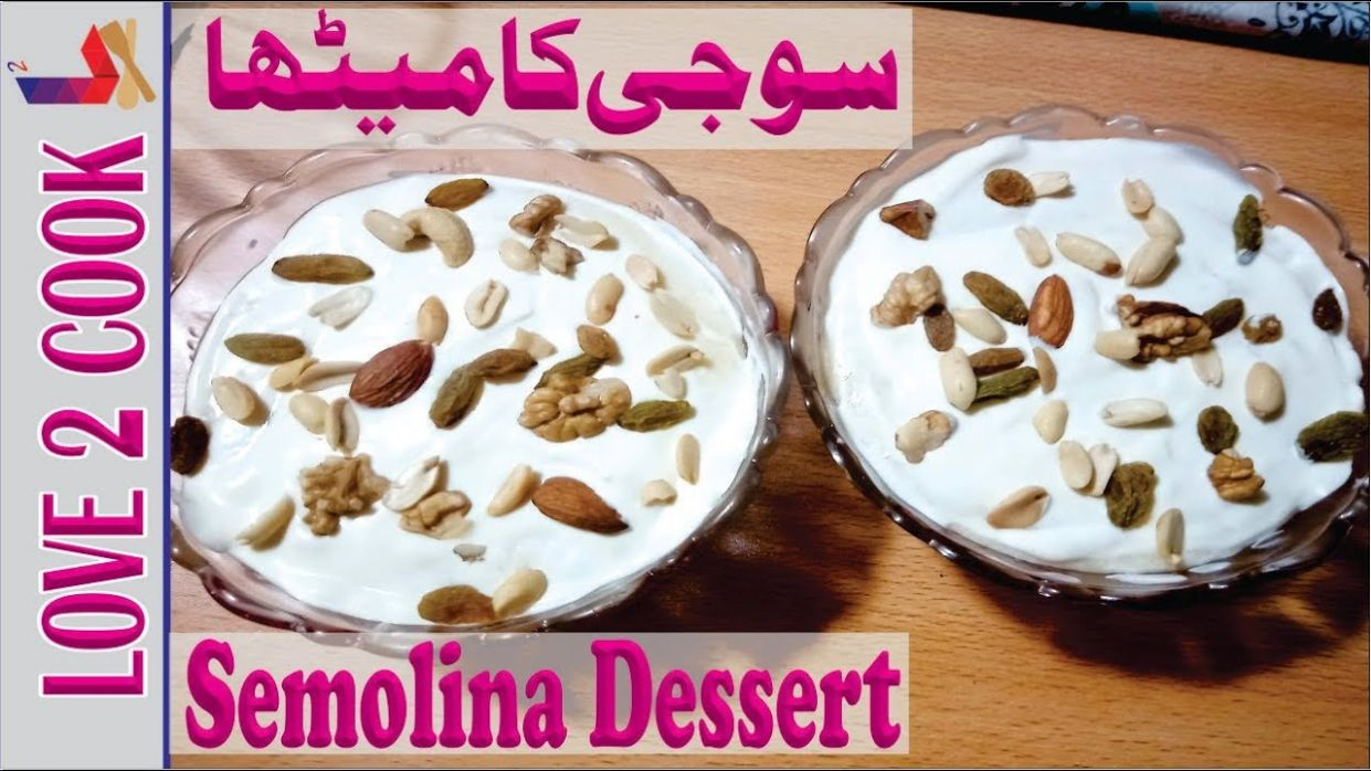 Suji Dessert Recipes-Sweet Dishes-Condensed Milk Recipes In Urdu Hindi 10 - Recipes In Urdu Sweet Dishes