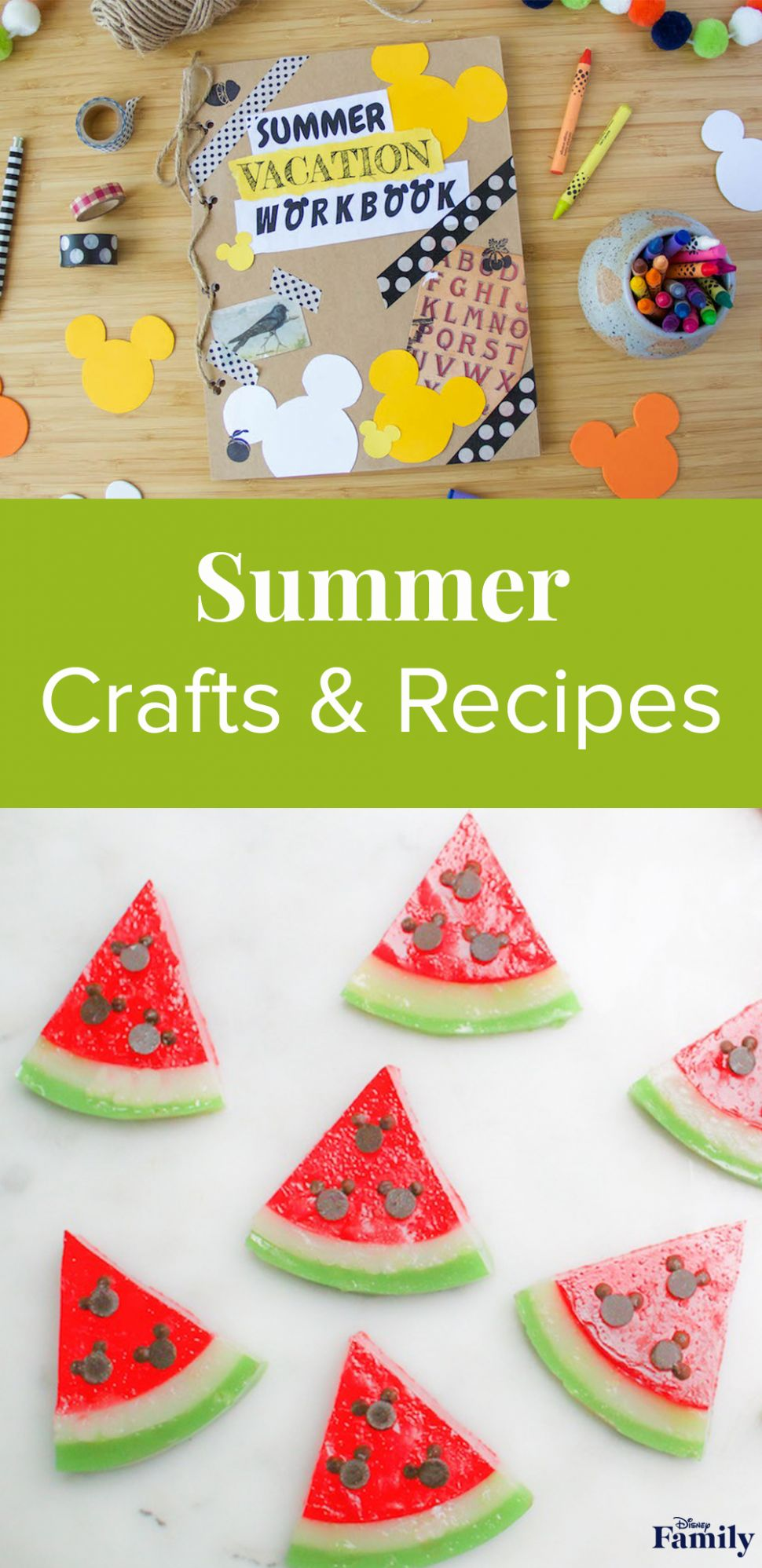 Summer Crafts and Recipes for Your Kids | Disney Family - Recipes For Summer Vacation