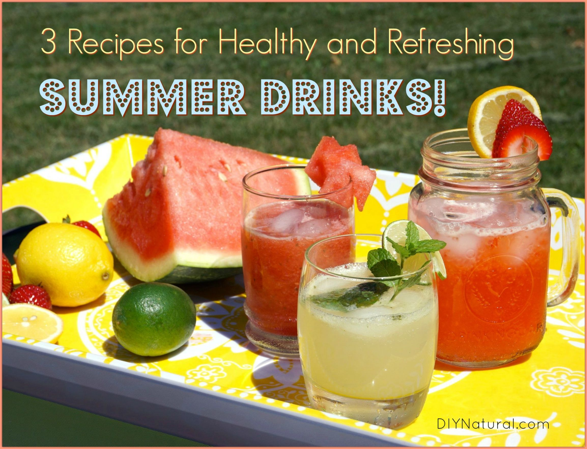 Summer Drinks: 12 Healthy, Refreshing Summer Drink Recipes - Recipes Of Summer Drinks
