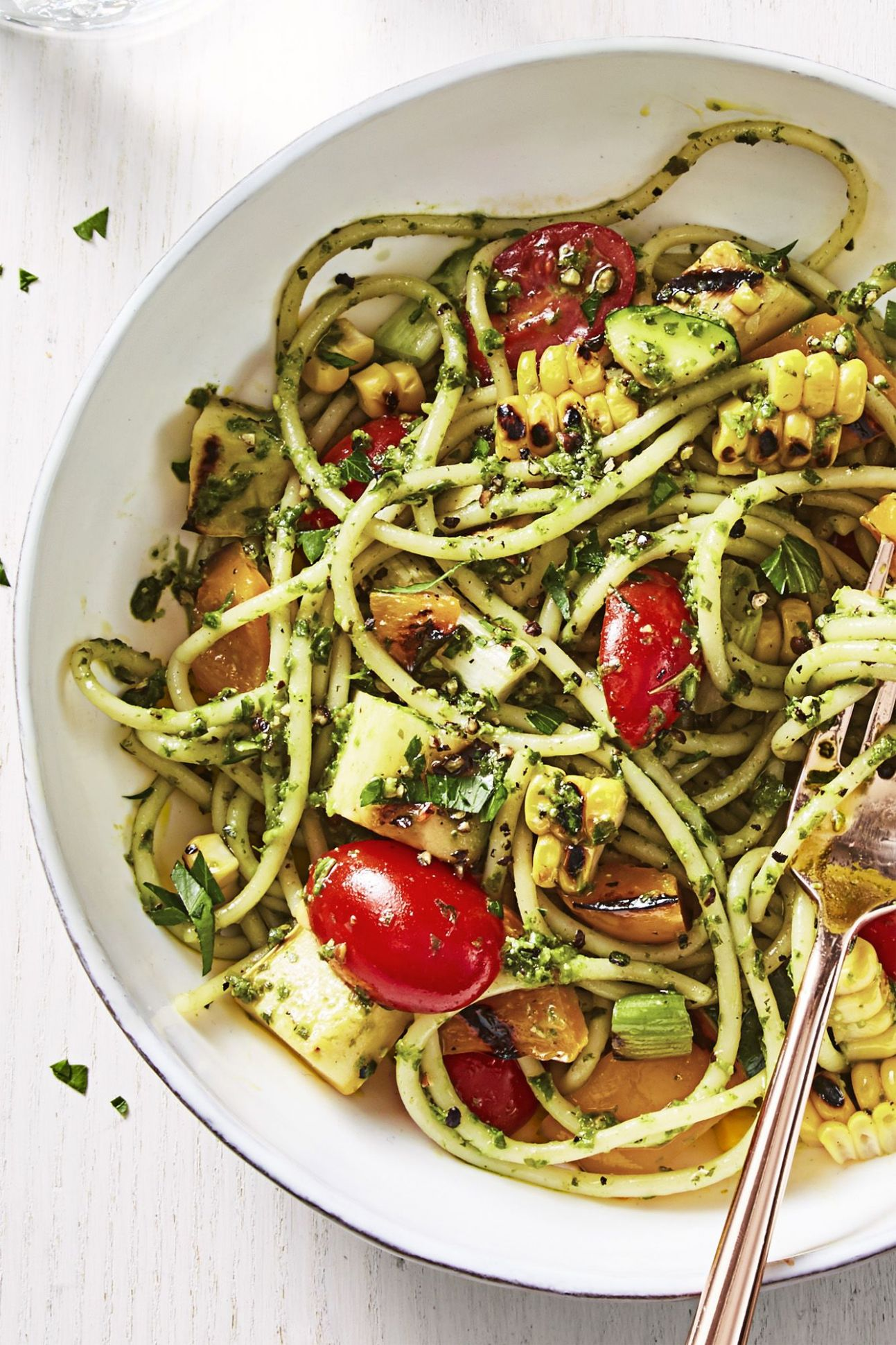 Summer Pesto Pasta - Summer Recipes Good Housekeeping