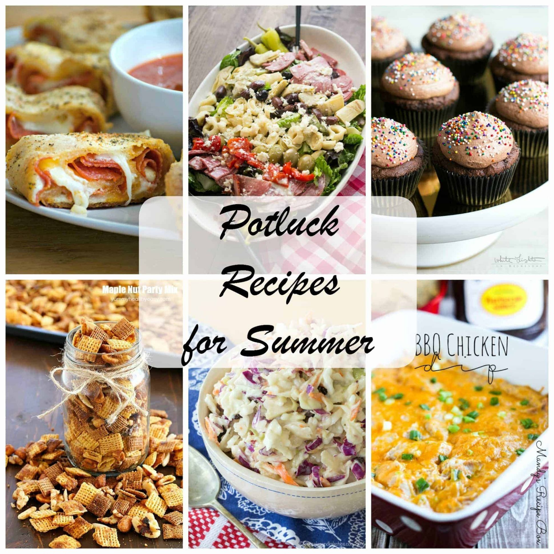 Summer Potluck Recipes - 11 Days of Baking and More - Recipes Summer Potluck