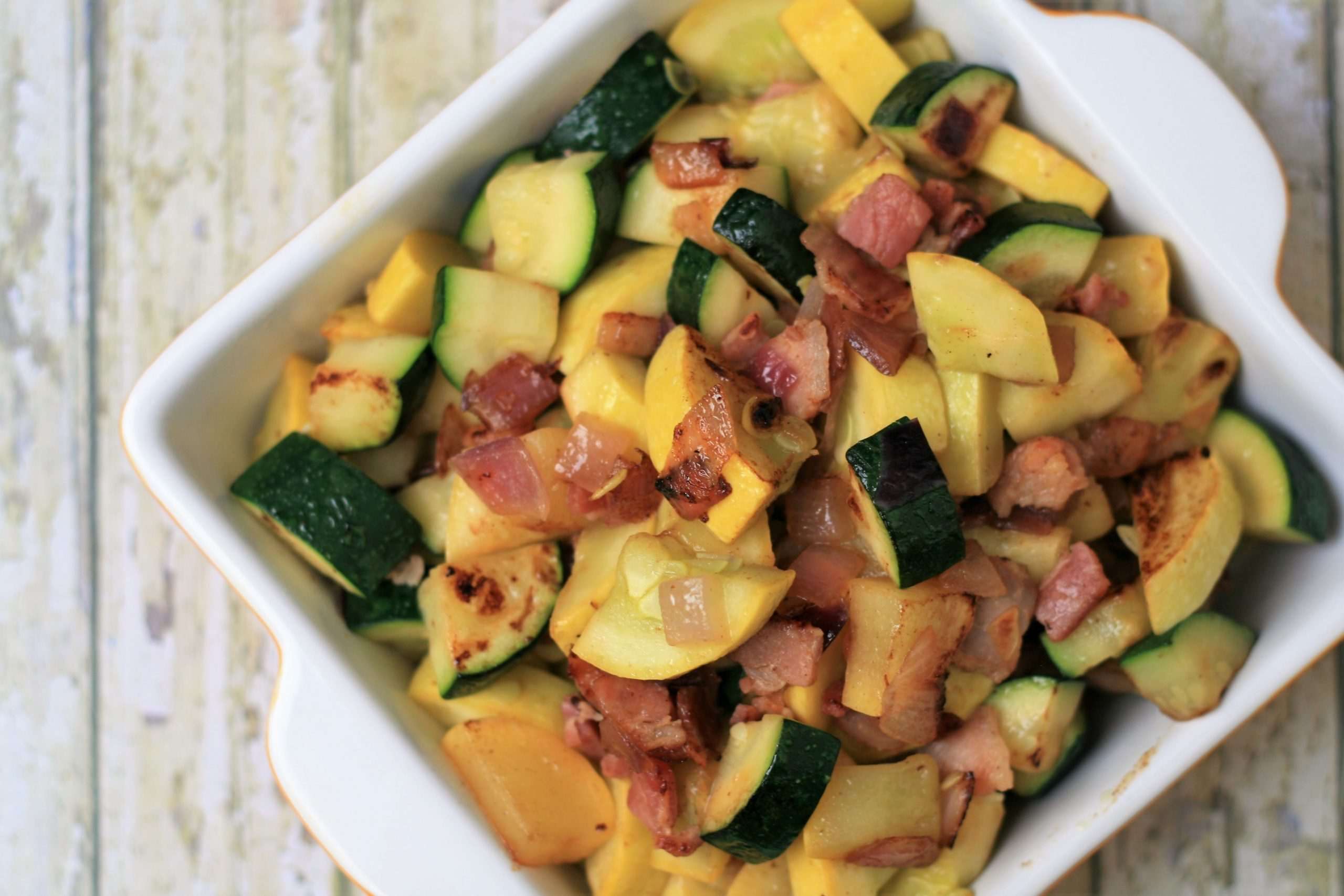 Summer Squash Saute with Bacon - Summer Recipes Allrecipes