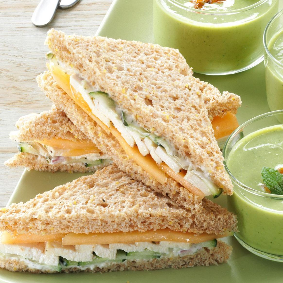 Summer Tea Sandwiches - Sandwich Recipes Taste Of Home