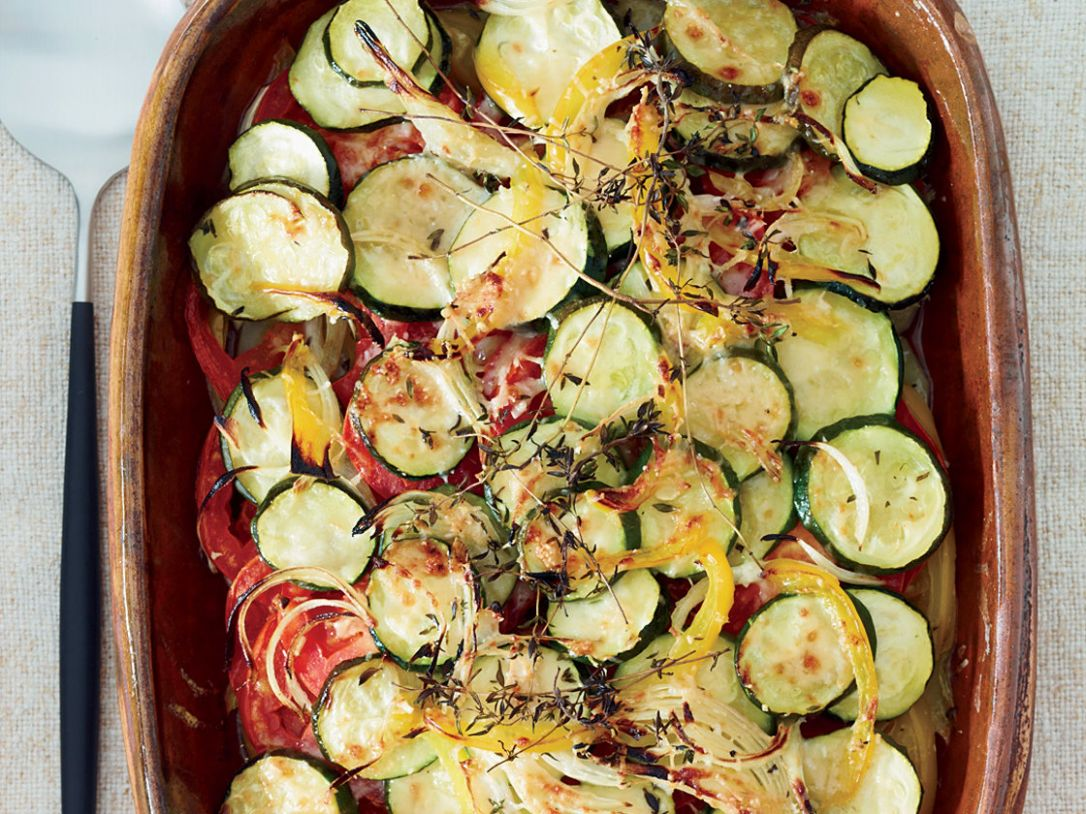 Summer-Vegetable Casserole