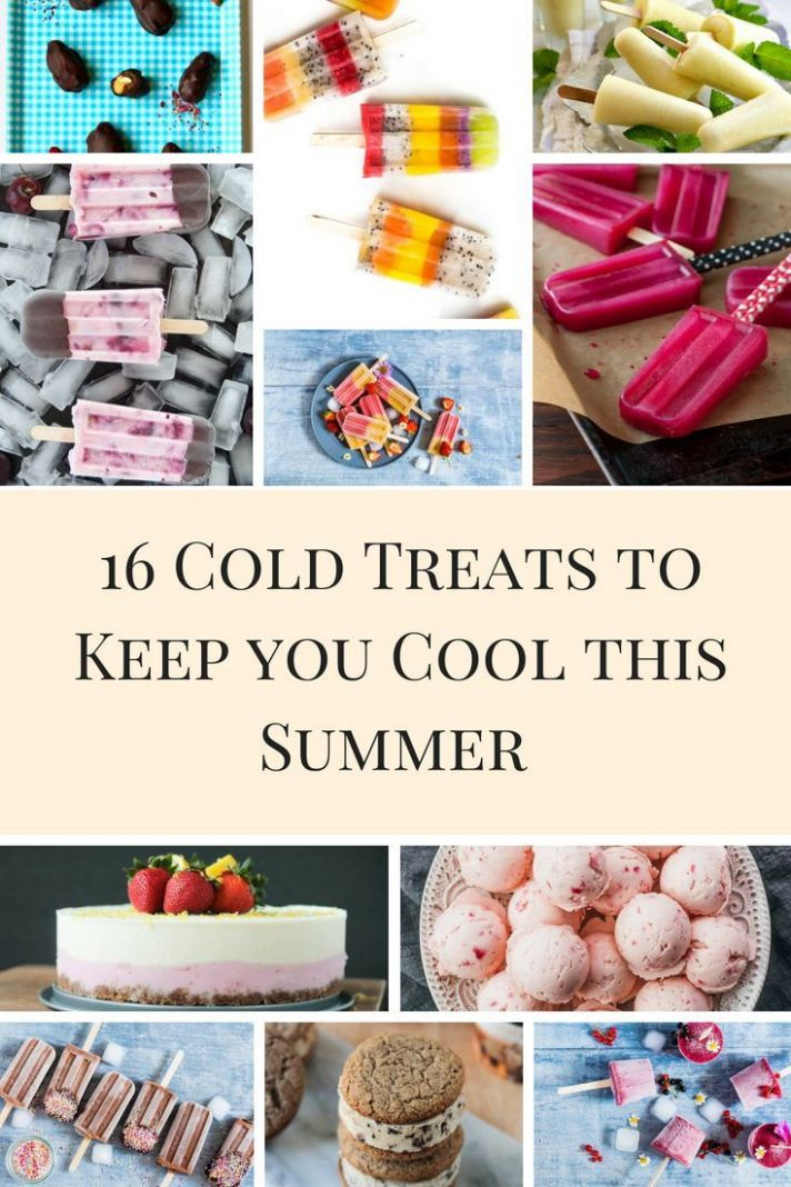 Summertime Cool Down Sweet Treats | Sweet treats, Cold desserts ..