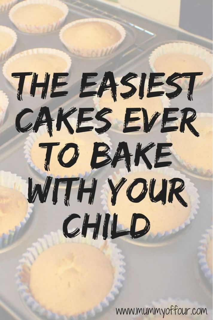 Super easy fairy cake recipe to bake with your child - even if you ..