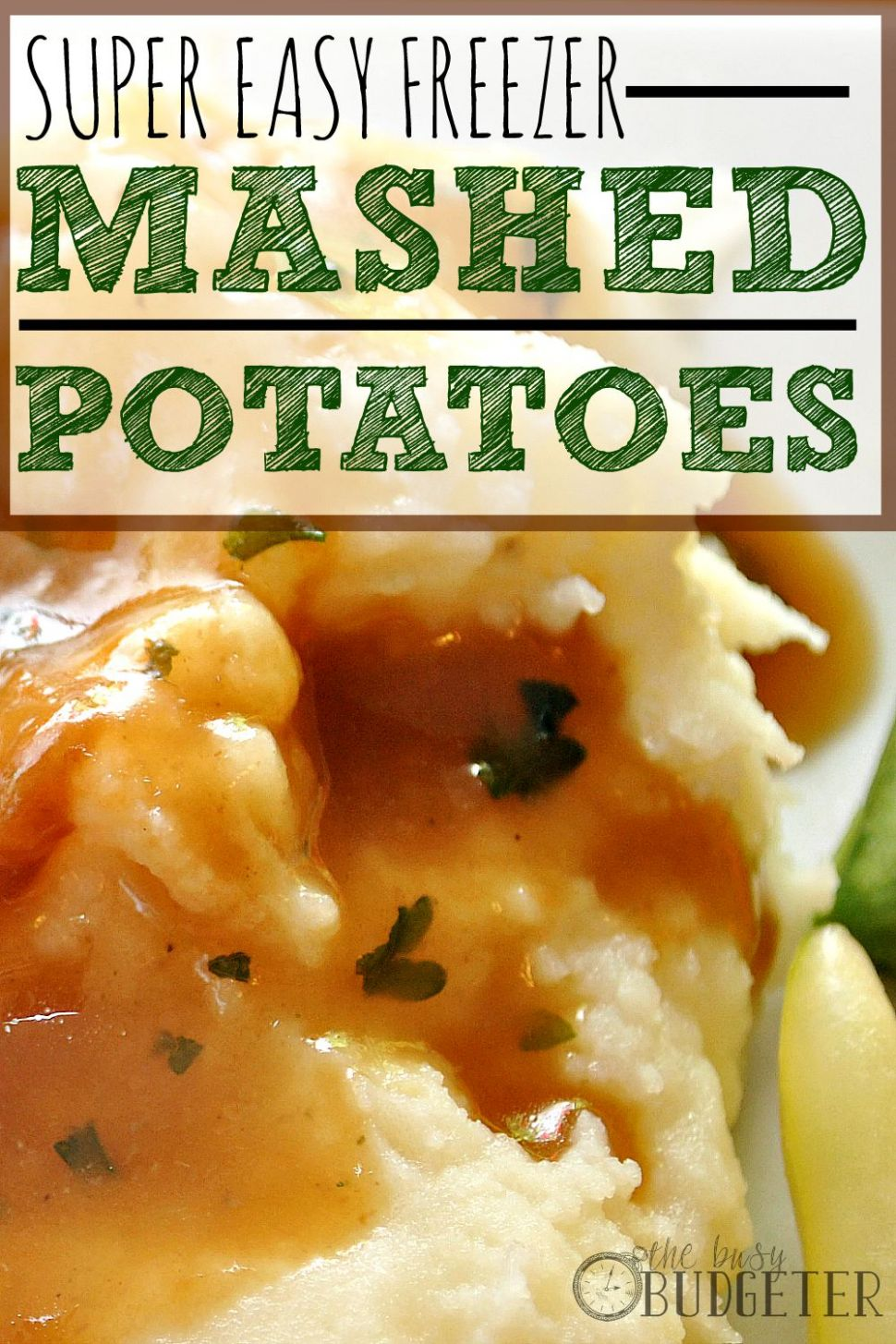 Super Easy Freezer Instant Mashed Potatoes - Potato Recipes That Freeze Well