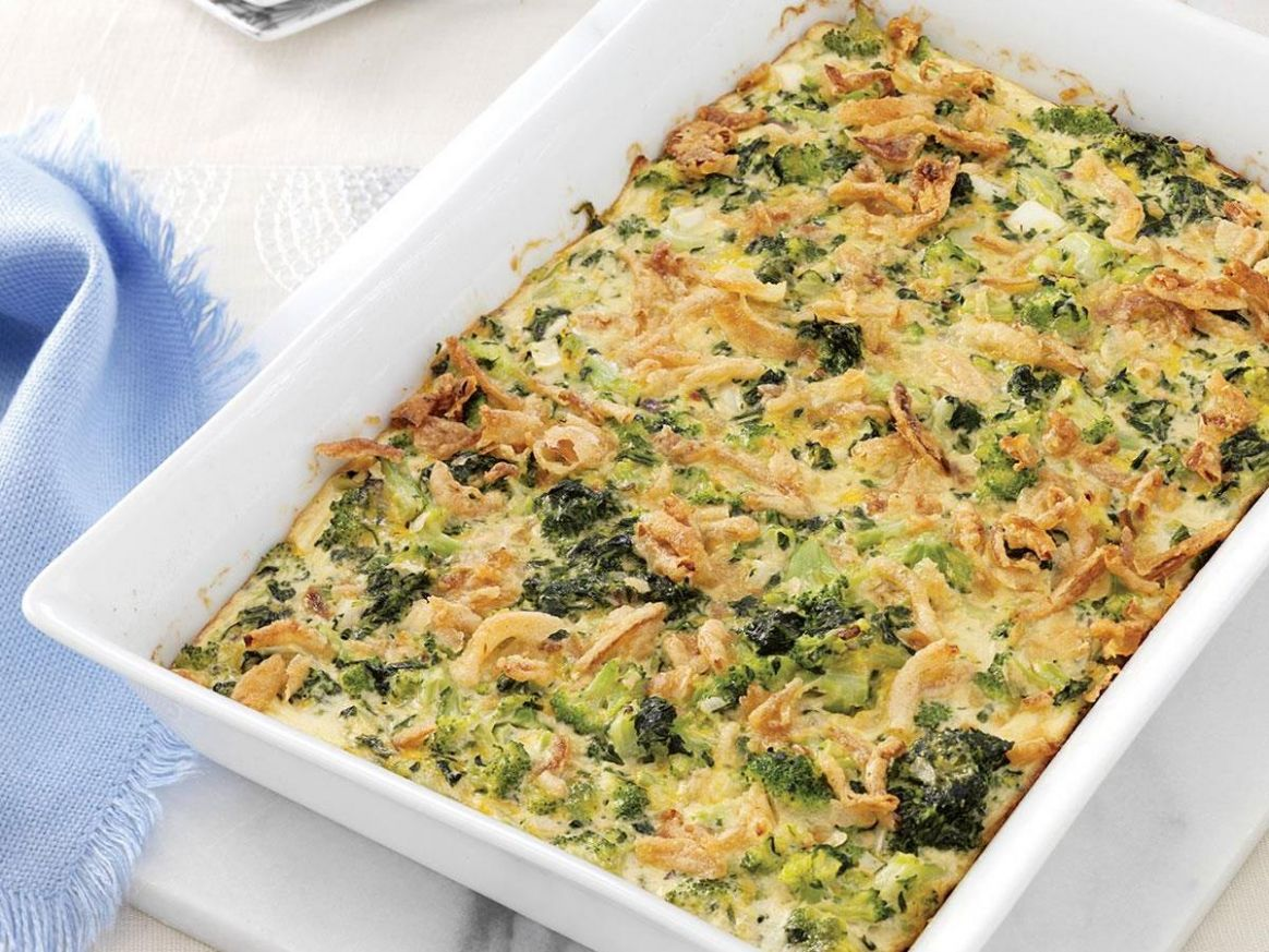 Supreme Green Vegetable Bake