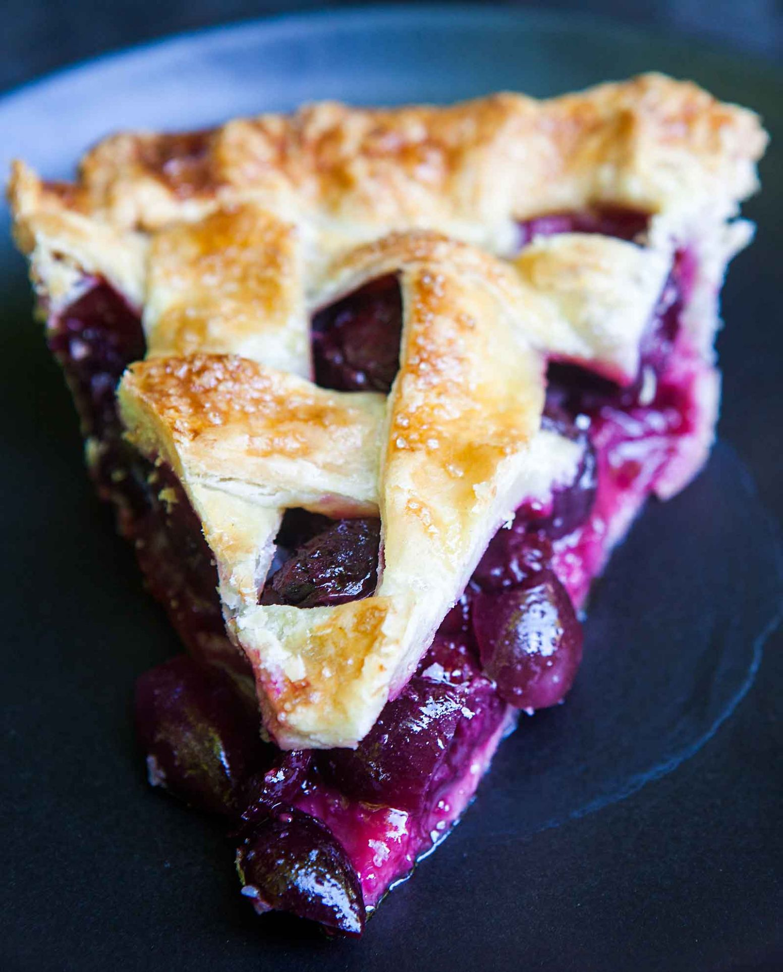 Sweet Cherry Pie - Dessert Recipes Made With Cherry Pie Filling
