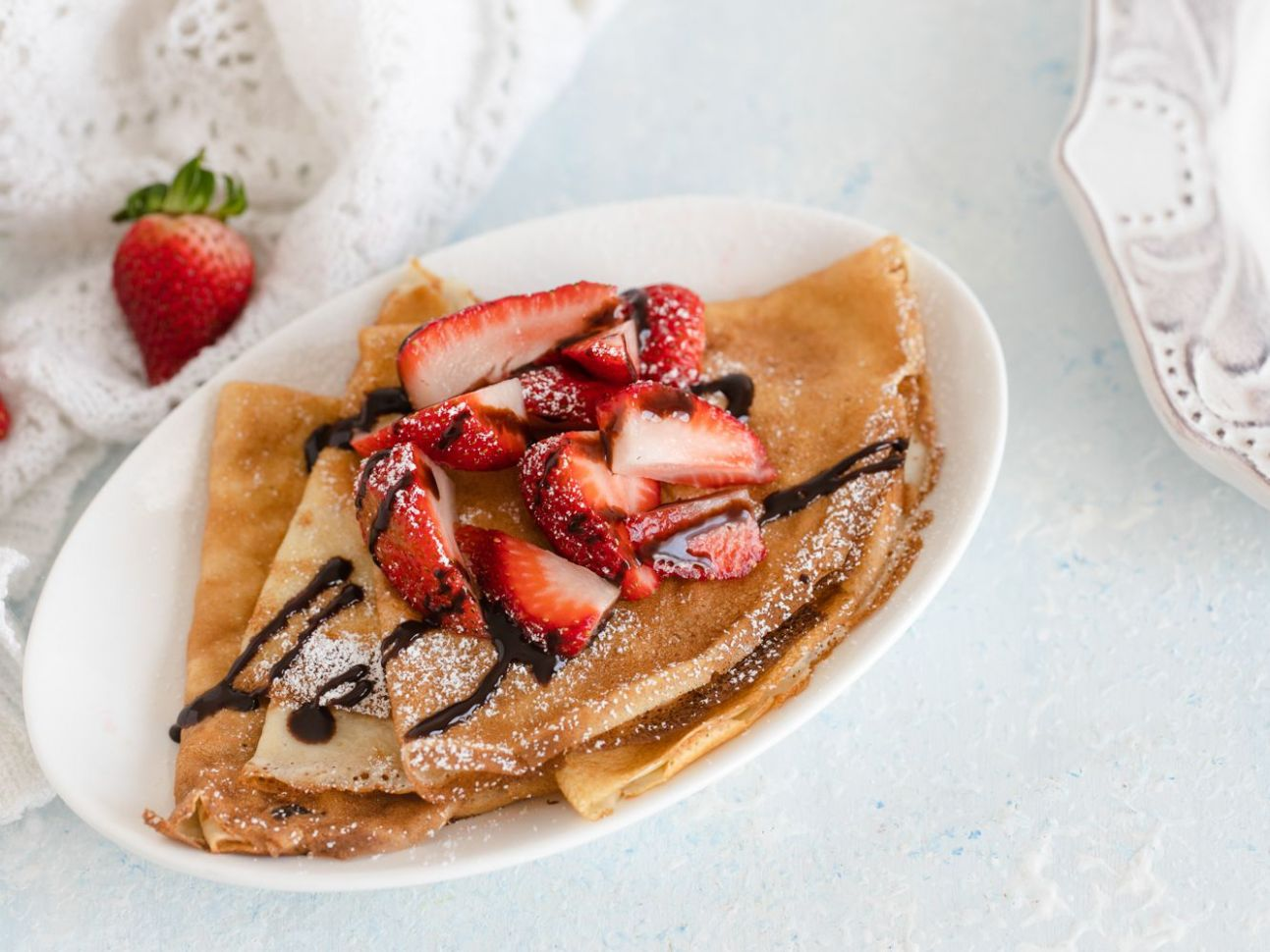 Sweet or Savory Basic Crepe Recipe - Breakfast Recipes Crepes
