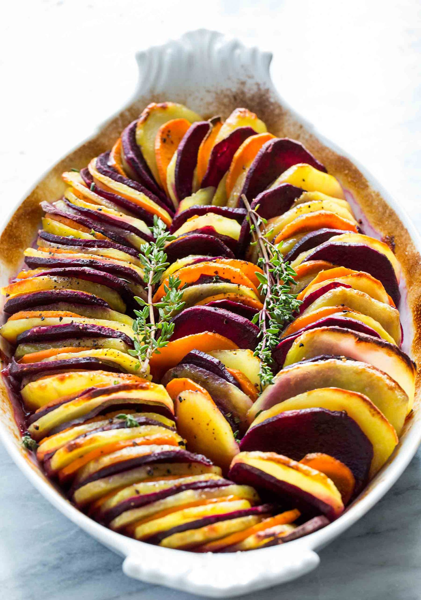 Sweet Potato and Yukon Gold Bake - Recipes Potato And Sweet Potato