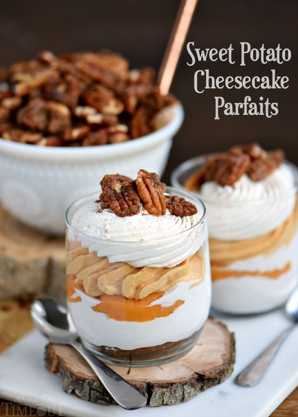 Sweet Potato Cheesecake Parfaits - Food Recipes Sweet