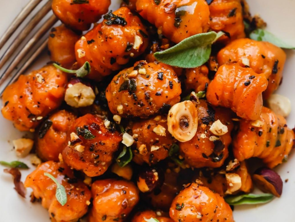 Sweet Potato Gnocchi [Vegan] - Recipes Using Potato Gnocchi