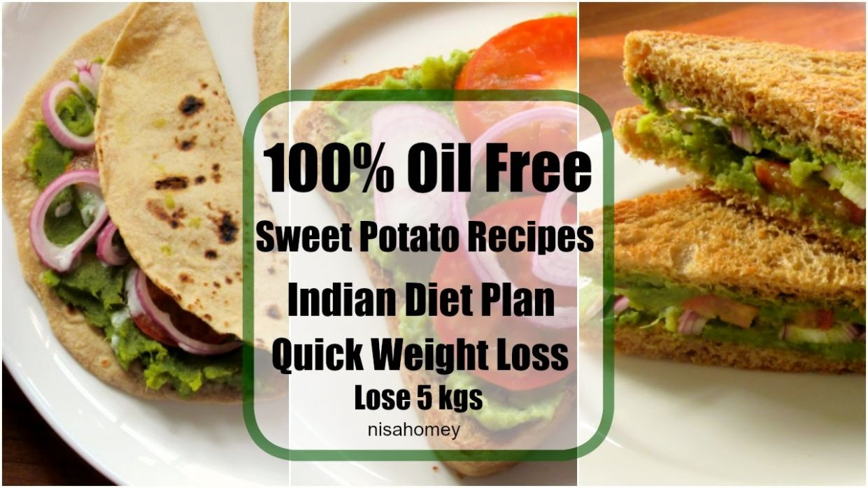 Sweet Potato Recipes For Weight loss - 11% Veg Meal/Diet Plan To Lose  Weight Fast - Lose 11 kgs - Potato Recipes To Lose Weight