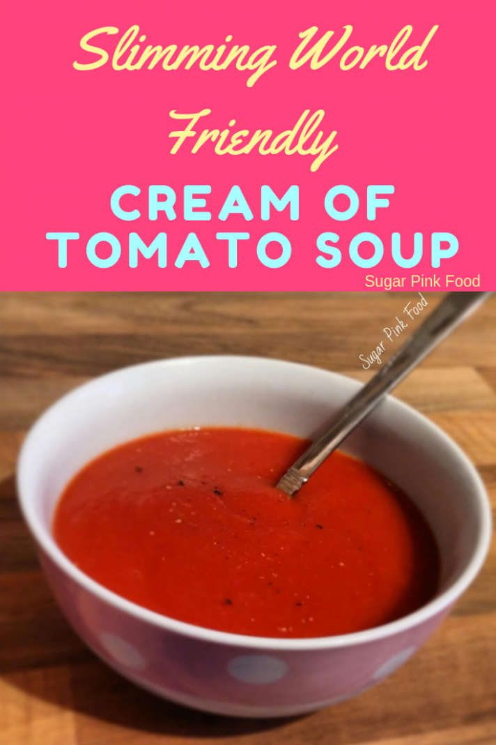 Syn Free Cream of Tomato Soup - Soup Recipes Slimming World