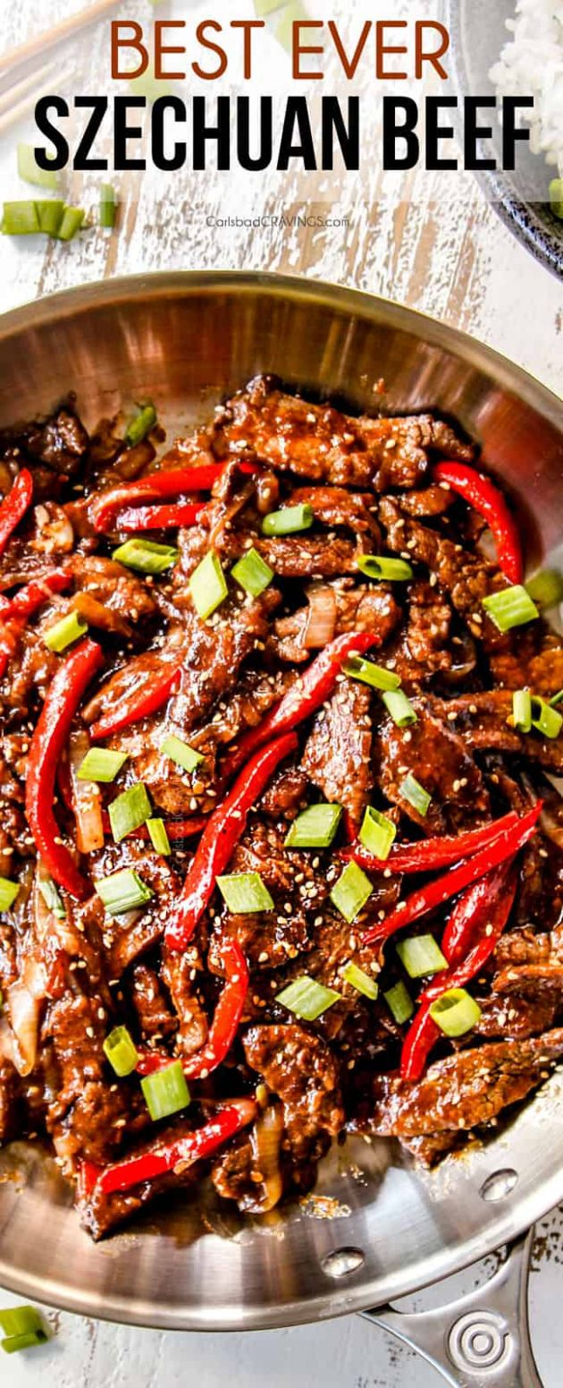 SZECHUAN BEEF - Beef Recipes Near Me
