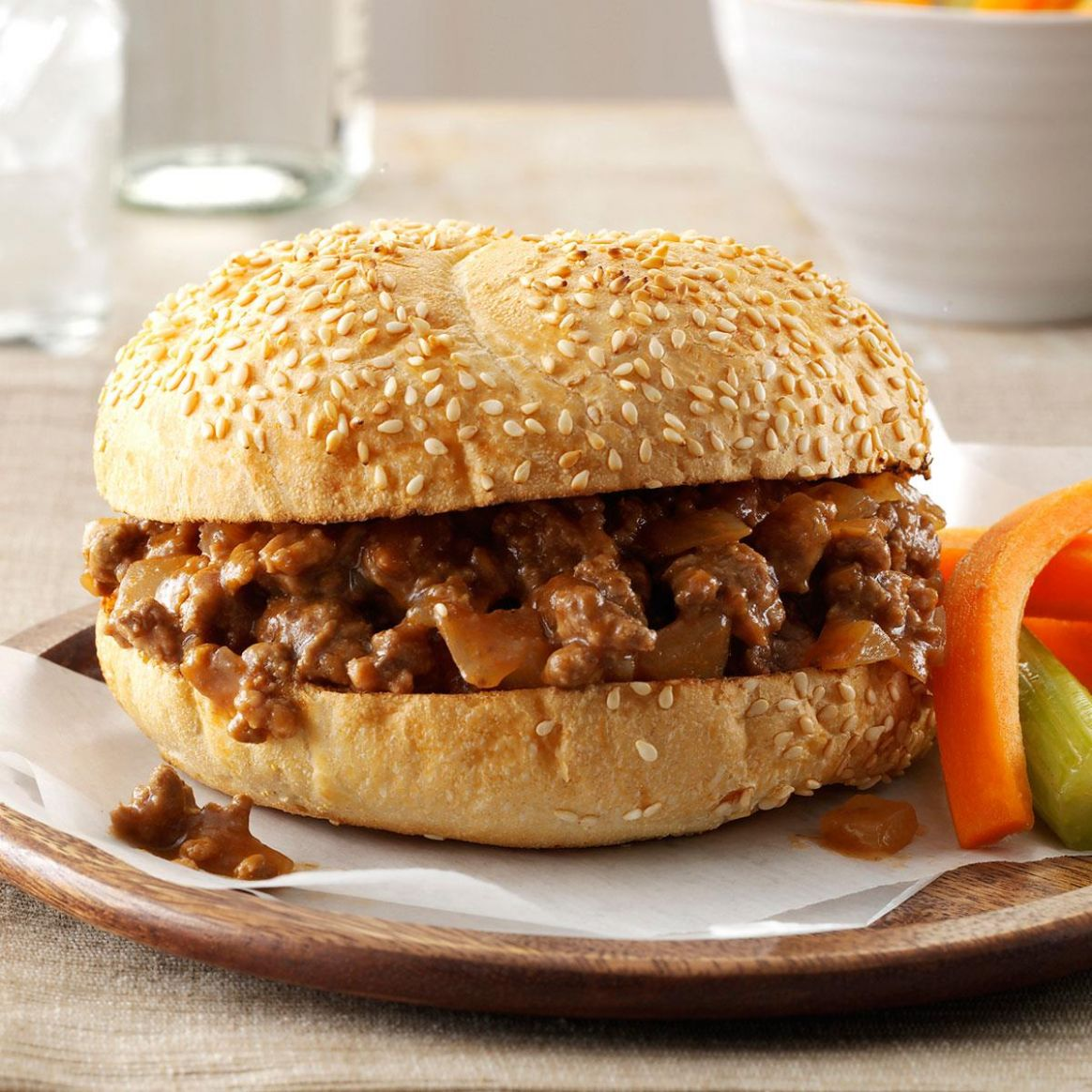 Tangy Barbecued Beef Sandwiches - Sandwich Recipes Taste Of Home