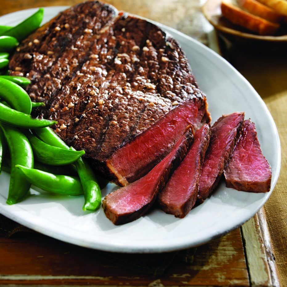 Tangy Lime Grilled Top Round Steak | Beef Recipes in 11 | Steak ...